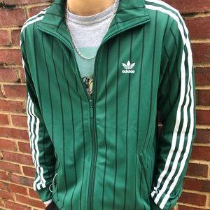 🌵 Adidas Originals Pinstripe Zip-up track Jacket